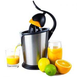 spremiagrumi elettrico per arance, limoni e melograni